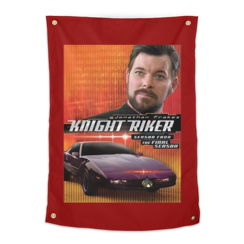 Knight Riker Home Tapestry by BestMarkMiller's Artist Shop