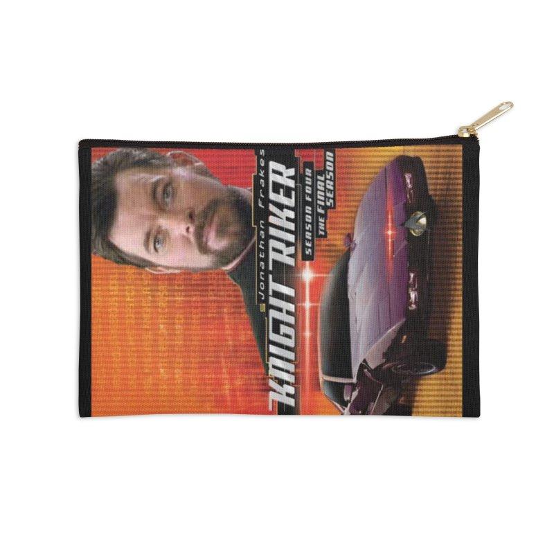 Knight Riker Accessories Zip Pouch by BestMarkMiller's Artist Shop