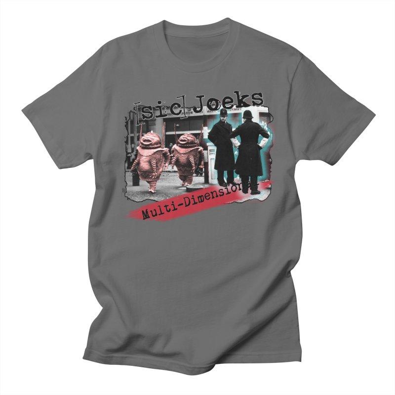 [sic] Joeks - Multi-Dimensional (Aliens and Bobbys) Women's T-Shirt by BestMarkMiller's Artist Shop