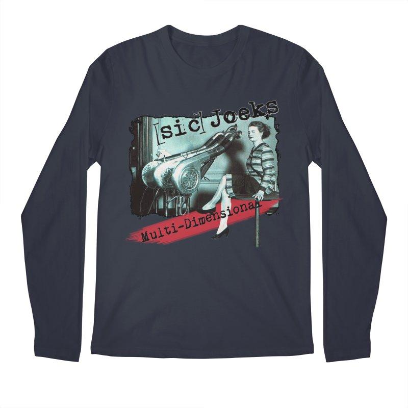 sic Joeks - Multi-Dimensional (Atomic Hairdryer) Men's Regular Longsleeve T-Shirt by BestMarkMiller's Artist Shop