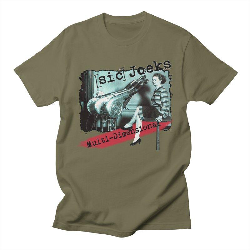 sic Joeks - Multi-Dimensional (Atomic Hairdryer) Women's Regular Unisex T-Shirt by BestMarkMiller's Artist Shop
