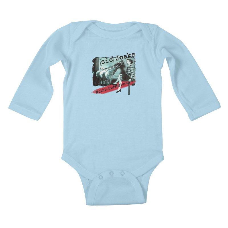 sic Joeks - Multi-Dimensional (Atomic Hairdryer) Kids Baby Longsleeve Bodysuit by BestMarkMiller's Artist Shop