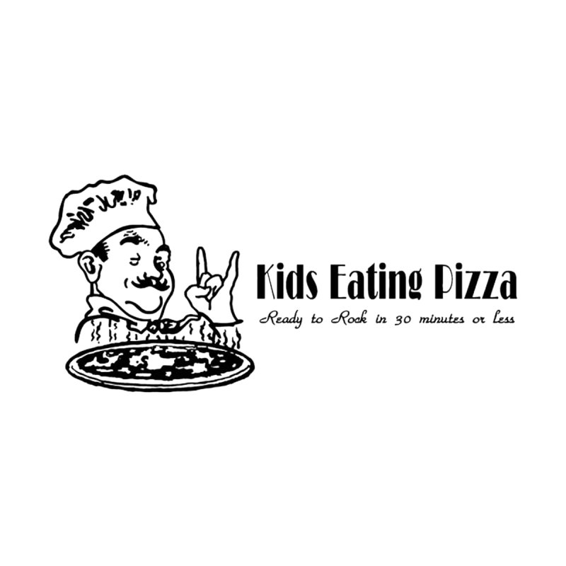 Kids Eating Pizza - Defunct Band Shirt (on lt colors by BestMarkMiller's Artist Shop