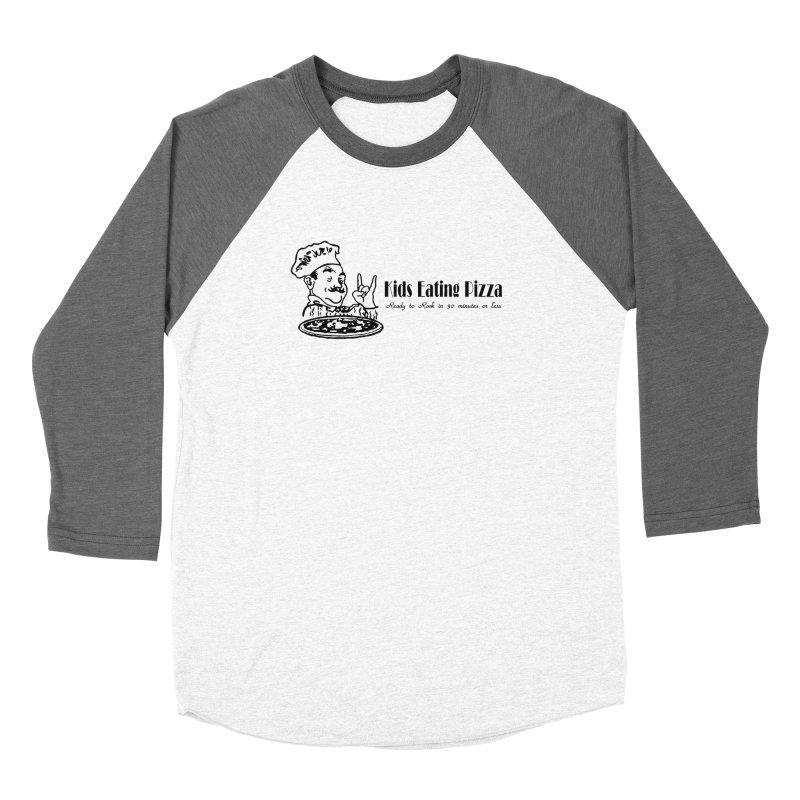 Kids Eating Pizza - Defunct Band Shirt (on lt colors Women's Longsleeve T-Shirt by BestMarkMiller's Artist Shop