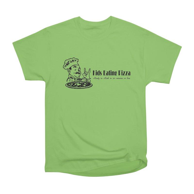 Kids Eating Pizza - Defunct Band Shirt (on lt colors Women's Heavyweight Unisex T-Shirt by BestMarkMiller's Artist Shop