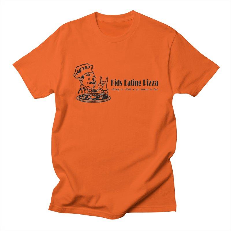 Kids Eating Pizza - Defunct Band Shirt (on lt colors Women's Regular Unisex T-Shirt by BestMarkMiller's Artist Shop