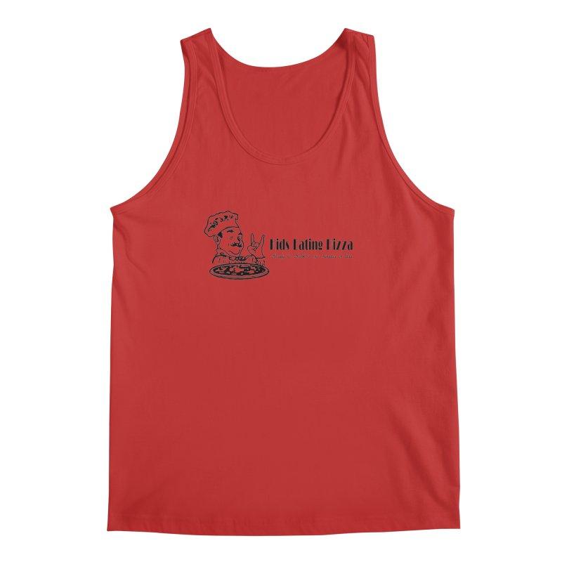 Kids Eating Pizza - Defunct Band Shirt (on lt colors Men's Regular Tank by BestMarkMiller's Artist Shop