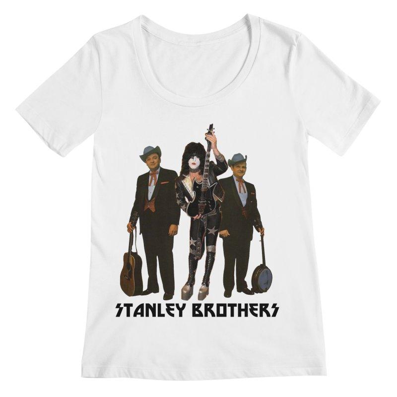 The Last Stanley Brother Women's Regular Scoop Neck by BestMarkMiller's Artist Shop