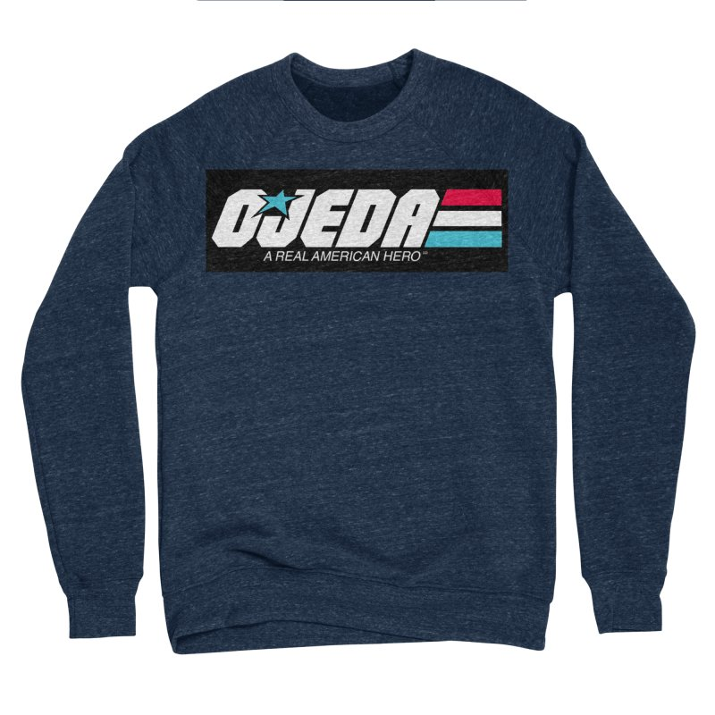 Ojeda-Joe Men's Sponge Fleece Sweatshirt by BestMarkMiller's Artist Shop