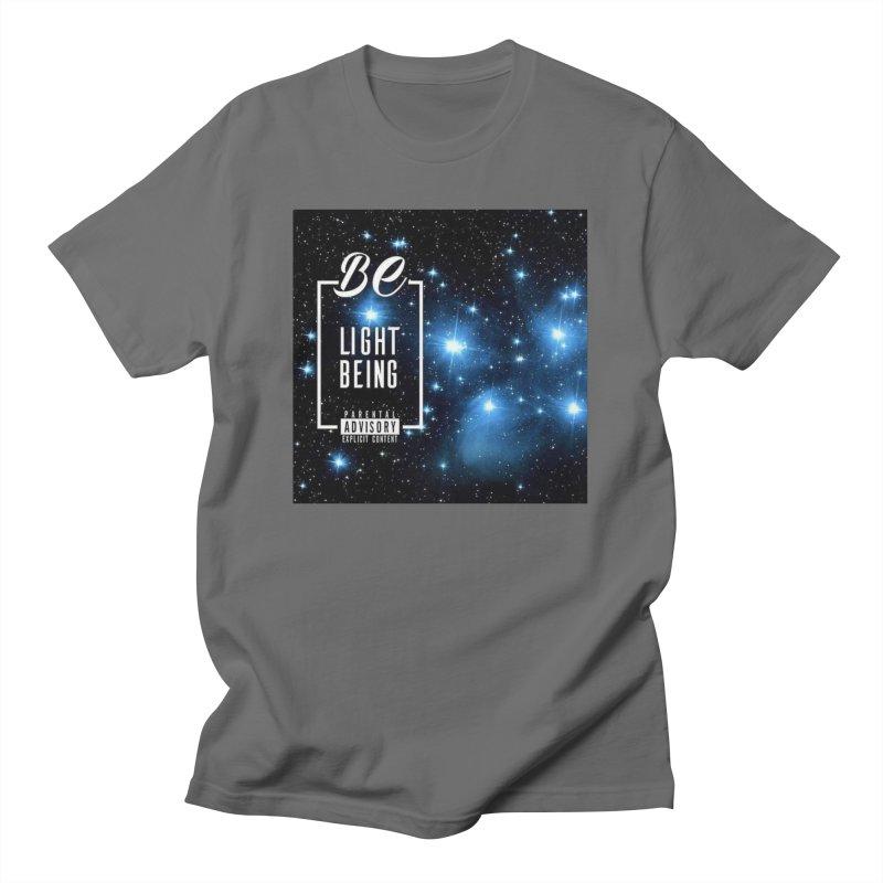 Light Being Merch Men's T-Shirt by Be's Merch Store
