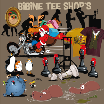 Bibine Tee Shop's Logo