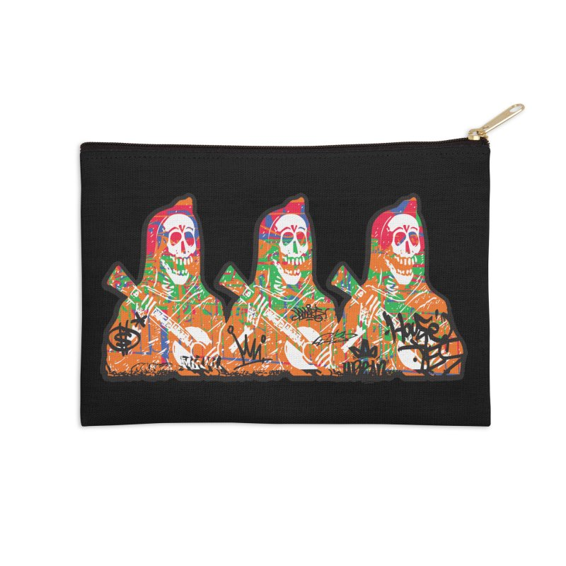 Three Amigos Accessories Zip Pouch by DarkGarden