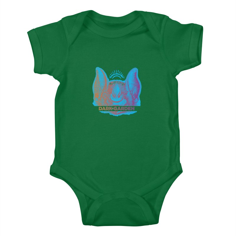 Mystic Bat Kids Baby Bodysuit by DarkGarden