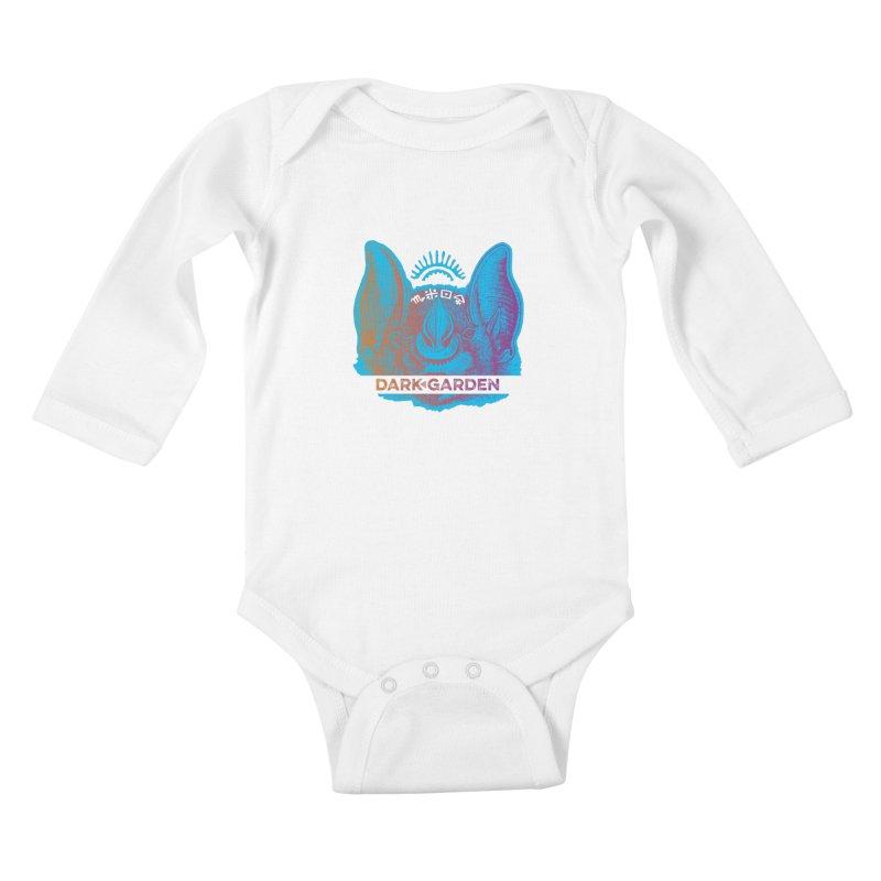 Mystic Bat Kids Baby Longsleeve Bodysuit by DarkGarden