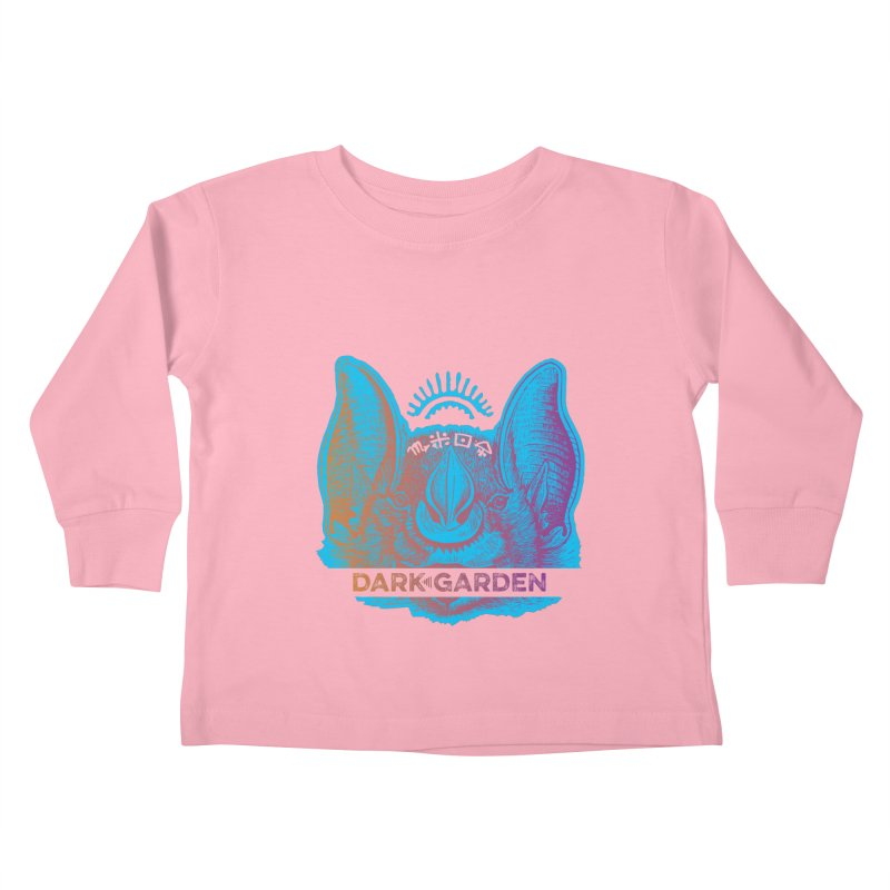 Mystic Bat Kids Toddler Longsleeve T-Shirt by DarkGarden