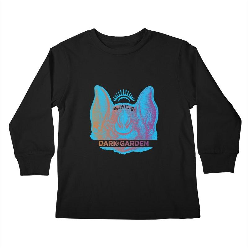 Mystic Bat Kids Longsleeve T-Shirt by DarkGarden