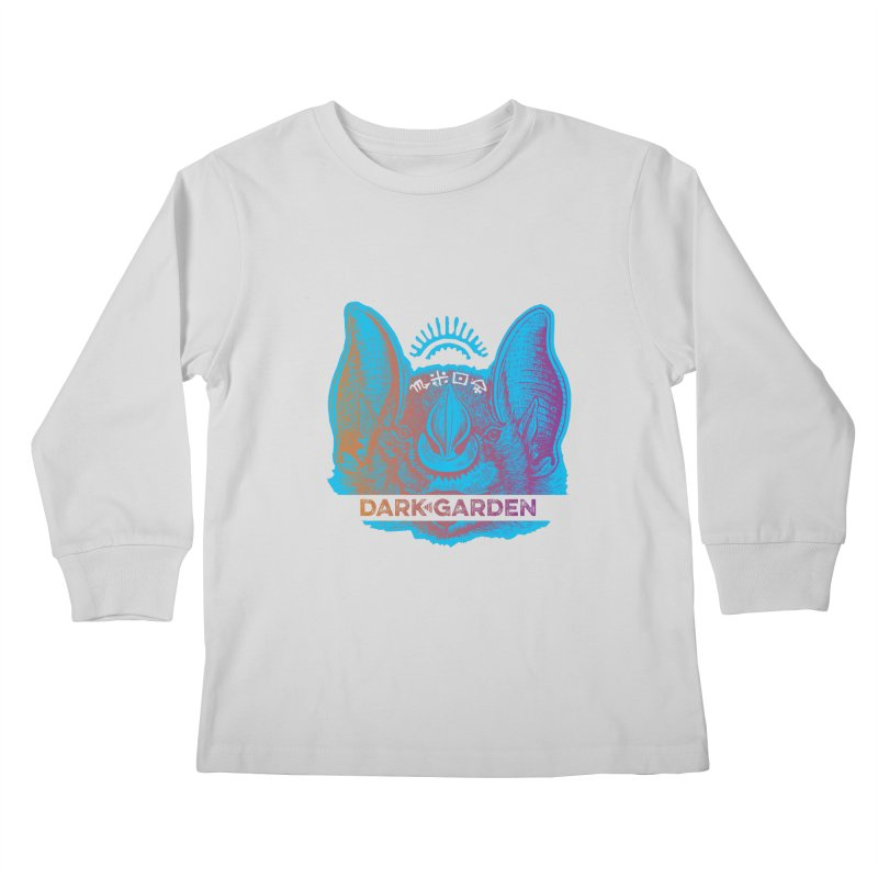 Mystic Bat Kids Longsleeve T-Shirt by DarkGarden
