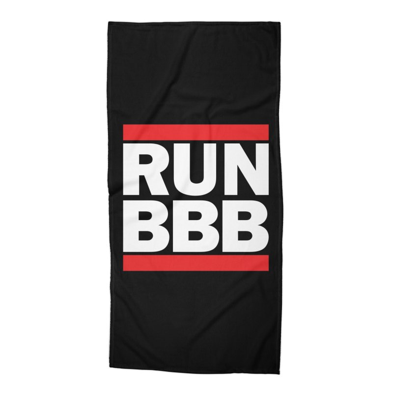 ICONIC LOGO collection Accessories Beach Towel by BigBlackBiscuit's Artist Shop