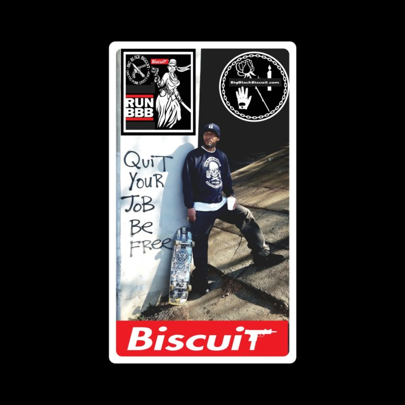 O.G. SToneY P. Pro model Accessories Sticker by BigBlackBiscuit's Artist Shop