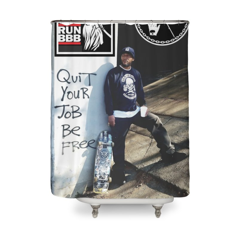 O.G. SToneY P. Pro model Home Shower Curtain by BigBlackBiscuit's Artist Shop