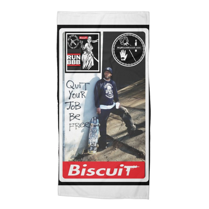 O.G. SToneY P. Pro model Accessories Beach Towel by BigBlackBiscuit's Artist Shop