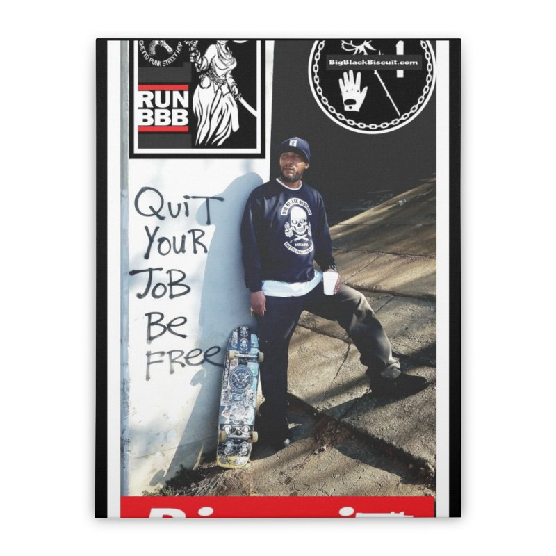 O.G. SToneY P. Pro model Home Stretched Canvas by BigBlackBiscuit's Artist Shop