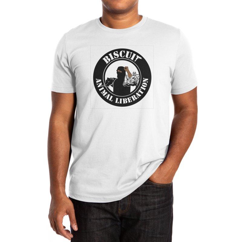 Round Rhino Men's T-Shirt by BigBlackBiscuit's Artist Shop