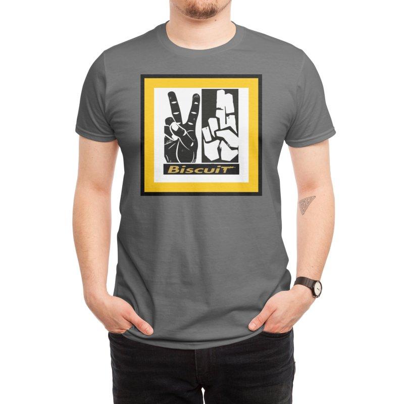 PEACE Men's T-Shirt by BigBlackBiscuit's Artist Shop