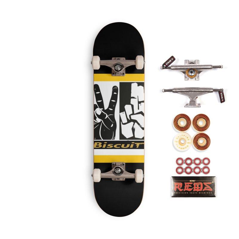PEACE Accessories Skateboard by BigBlackBiscuit's Artist Shop
