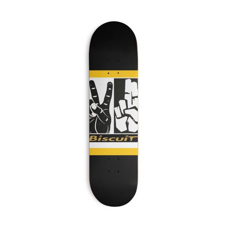 PEACE Accessories Skateboard by BigBlackBiscuit's Artist Shop