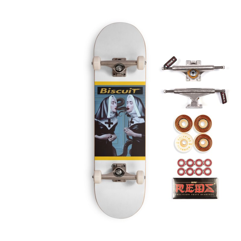 Serpent Accessories Skateboard by BigBlackBiscuit's Artist Shop