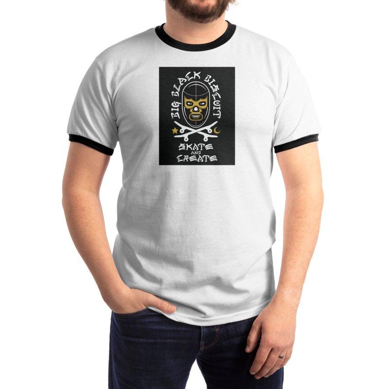 Skate & Create Men's T-Shirt by BigBlackBiscuit's Artist Shop