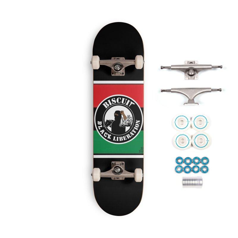 Blackman liberty flag Accessories Skateboard by BigBlackBiscuit's Artist Shop