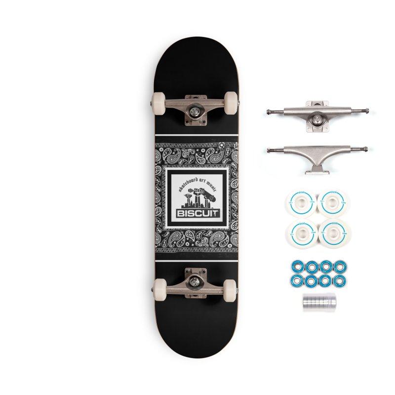 SKATEBOARD ARTE MUSICA Accessories Skateboard by BigBlackBiscuit's Artist Shop