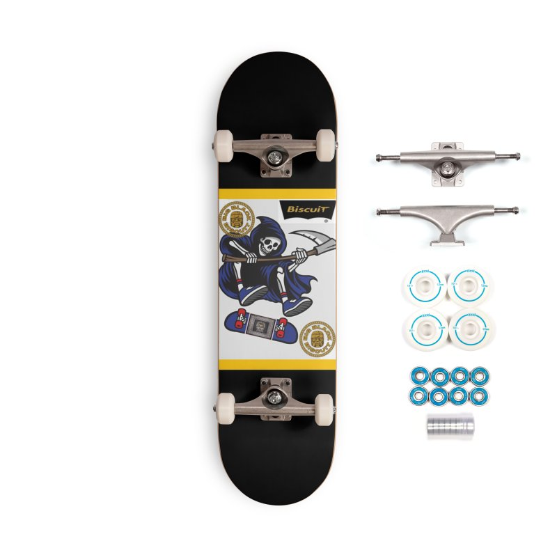 Creeper Reaper Accessories Skateboard by BigBlackBiscuit's Artist Shop