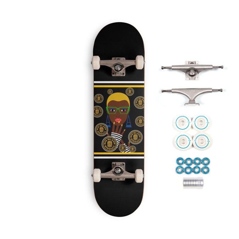 Sweet Science Accessories Skateboard by BigBlackBiscuit's Artist Shop
