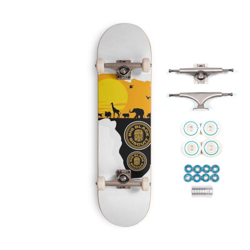 African Horizons 2 Accessories Skateboard by BigBlackBiscuit's Artist Shop