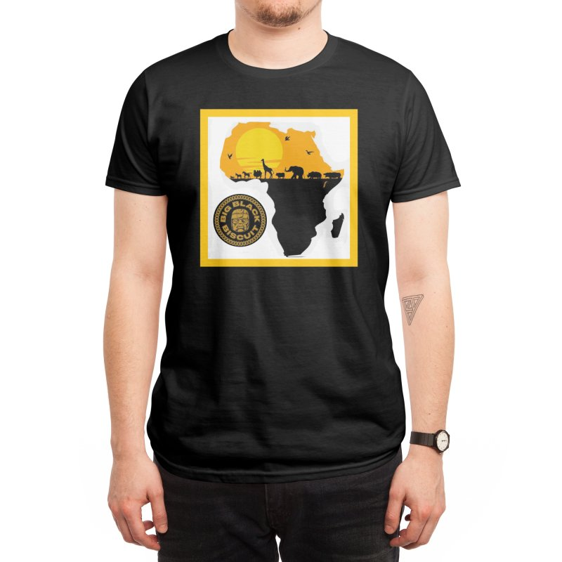 African Horizons Men's T-Shirt by BigBlackBiscuit's Artist Shop
