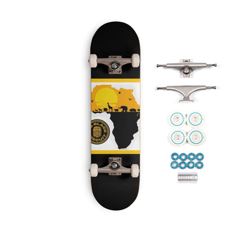 African Horizons Accessories Skateboard by BigBlackBiscuit's Artist Shop