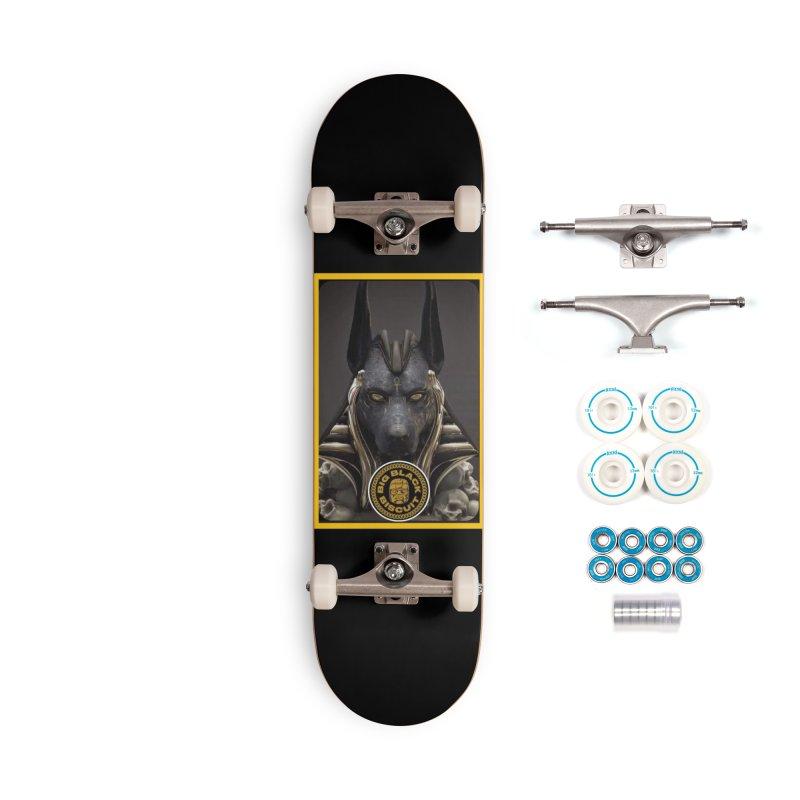 Anubis Annunaki Accessories Skateboard by BigBlackBiscuit's Artist Shop