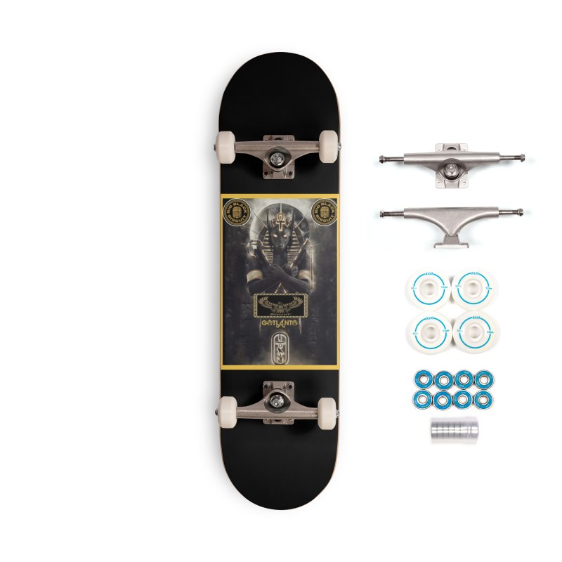 AABUCUS ANUBIS ANNUNAKI Accessories Skateboard by BigBlackBiscuit's Artist Shop