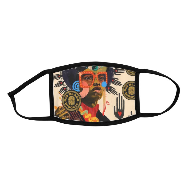 Esmerelda Esquire Accessories Face Mask by BigBlackBiscuit's Artist Shop