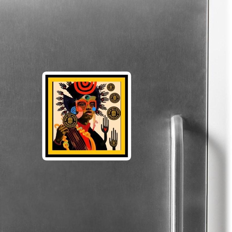 Esmerelda Esquire Accessories Magnet by BigBlackBiscuit's Artist Shop