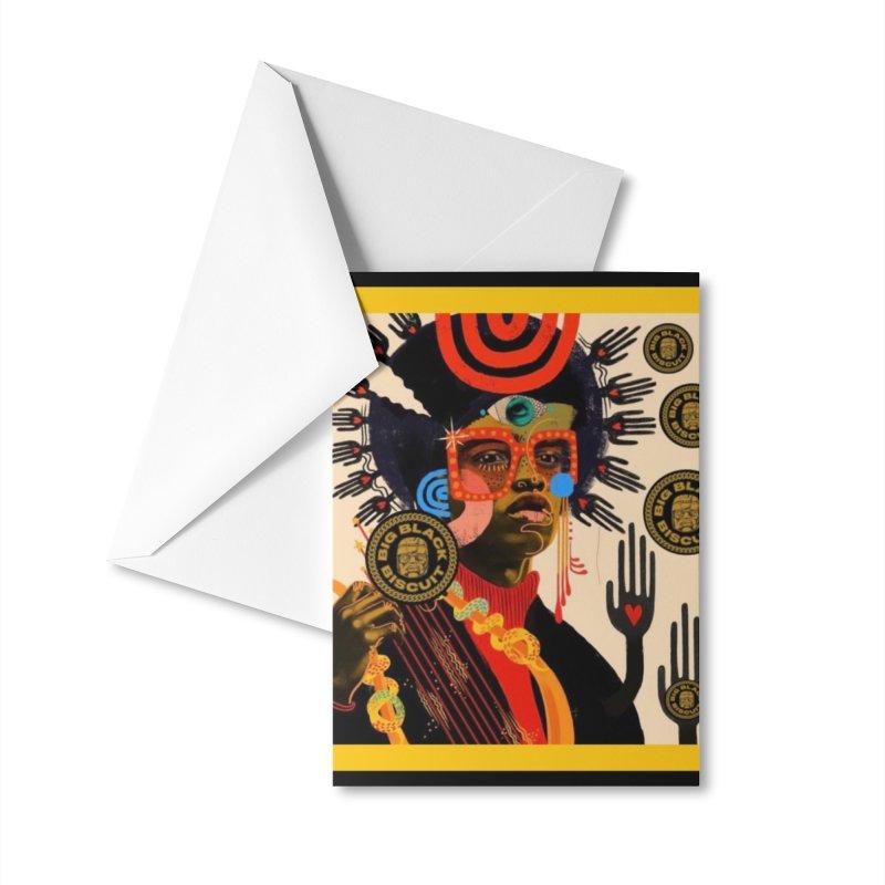 Esmerelda Esquire Accessories Greeting Card by BigBlackBiscuit's Artist Shop