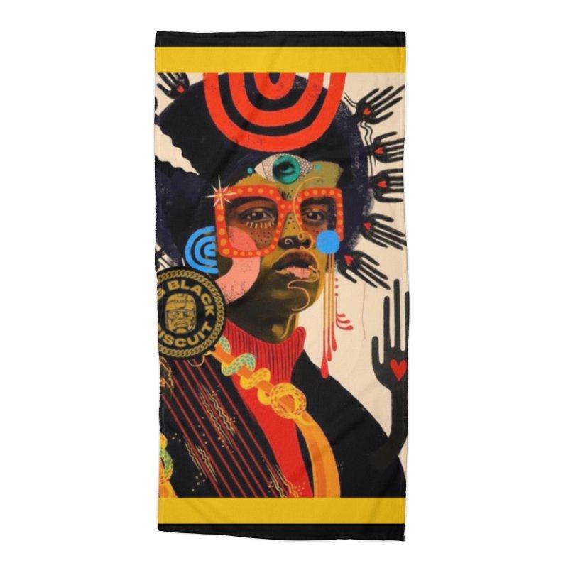 Esmerelda Esquire Accessories Beach Towel by BigBlackBiscuit's Artist Shop