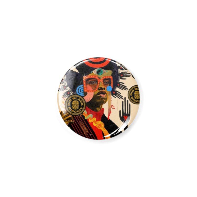 Esmerelda Esquire Accessories Button by BigBlackBiscuit's Artist Shop
