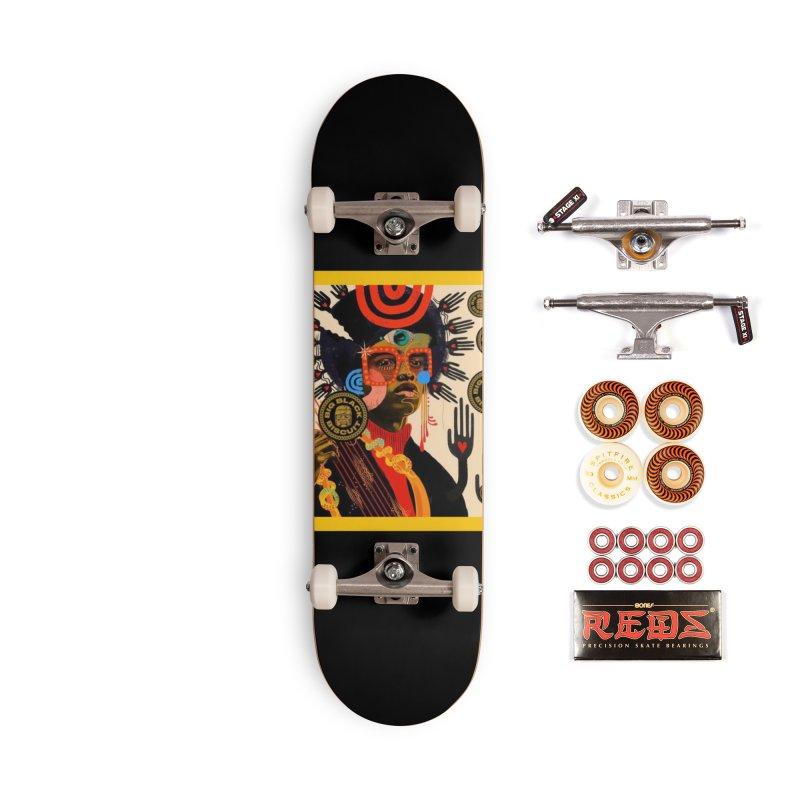 Esmerelda Esquire Accessories Skateboard by BigBlackBiscuit's Artist Shop