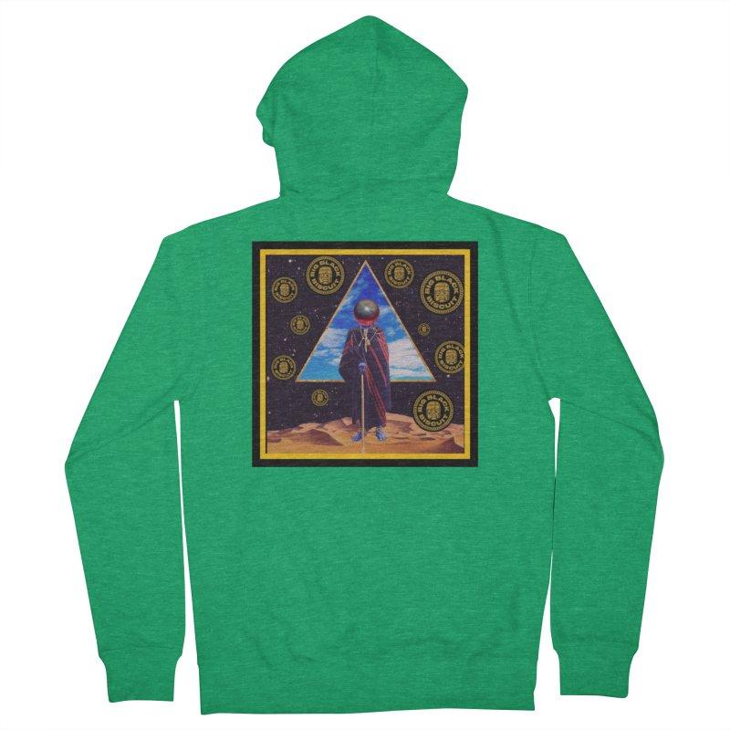 Pyramid Portfolio Portal Women's Zip-Up Hoody by BigBlackBiscuit's Artist Shop