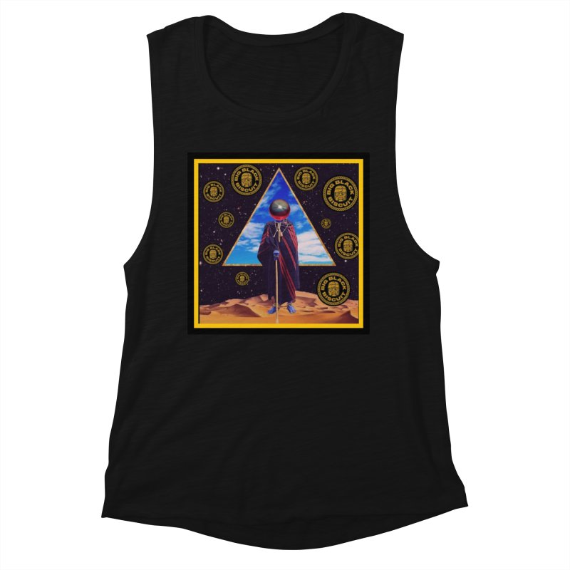 Pyramid Portfolio Portal Women's Tank by BigBlackBiscuit's Artist Shop