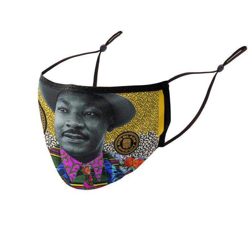 M.L.K. Accessories Face Mask by BigBlackBiscuit's Artist Shop